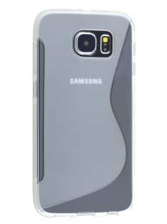 Samsung Galaxy S6 Wave Case - Frosted Clear/Clear