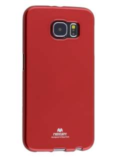 Mercury Glossy Gel Case for Samsung Galaxy S6 - Red