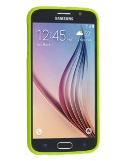 Mercury Glossy Gel Case for Samsung Galaxy S6 - Lime Green
