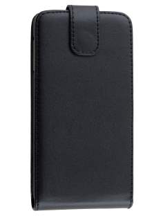 Samsung Galaxy A5 (2014) Synthetic Leather Flip Case - Classic Black