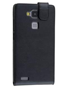 Synthetic Leather Flip Case for Huawei Ascend Mate7 - Black