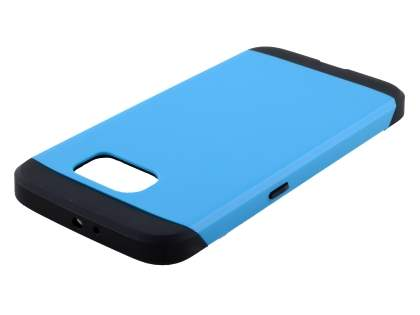 Samsung Galaxy S6 Impact Case - Sky Blue/Black