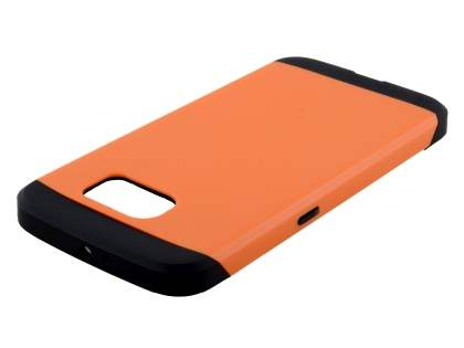Samsung Galaxy S6 Impact Case - Orange/Black