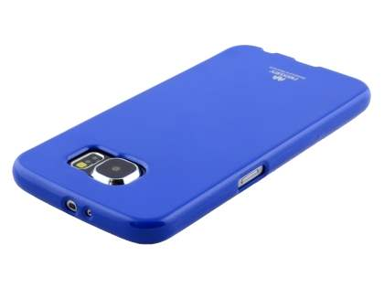 Mercury Goospery Glossy Gel Case for Samsung Galaxy S6 - Blue