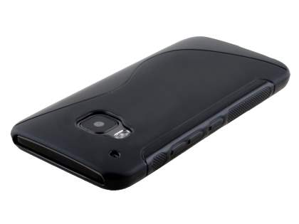 Wave Case for HTC One M9 - Frosted Black/Black