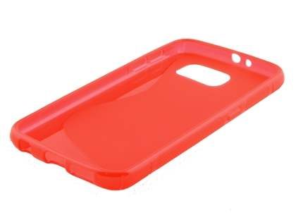 Wave Case for Samsung Galaxy S6 - Frosted Red/Red