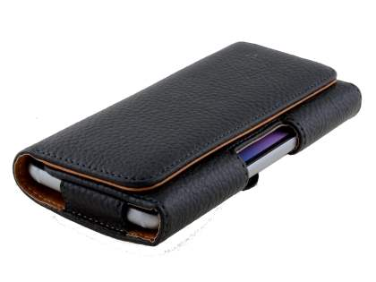 Textured Synthetic Leather Belt Pouch for Samsung Galaxy S6