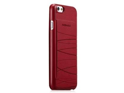 Momax Elite Premium Flip Cover for iPhone 6s/6 4.7 inches - Red