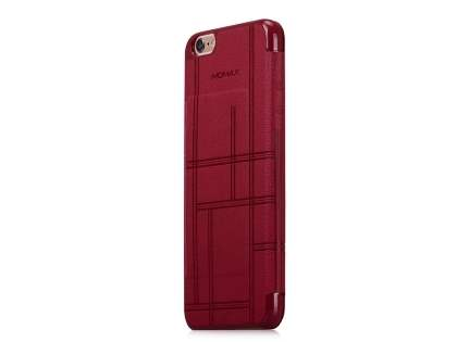 Momax Elite Premium Flip Cover for iPhone 6s Plus/6 Plus - Red