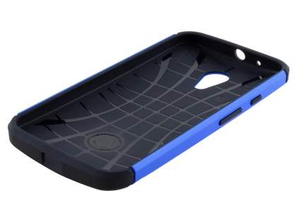 Motorola Moto G 2nd Gen Impact Case - Blue/Black