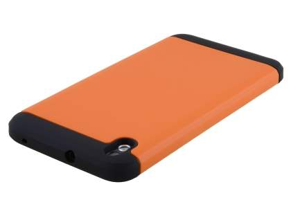 HTC Desire 816 Impact Case - Orange/Black