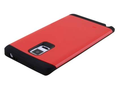 Samsung Galaxy Note Edge Impact Case - Red/Black