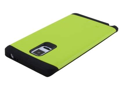 Impact Case for Samsung Galaxy Note Edge - Green/Black