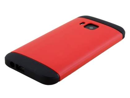 Impact Case for HTC One M9 - Red/Black