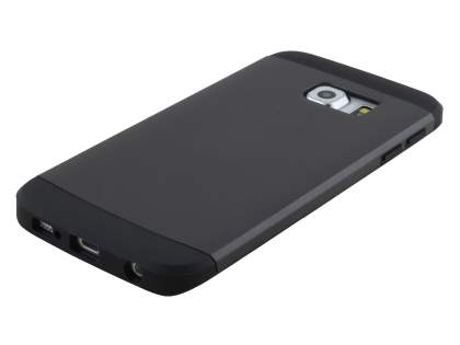 Impact Case for Samsung Galaxy S6 Edge - Charcoal/Black