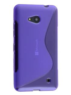 Wave Case for Microsoft Lumia 640 - Frosted Purple/Purple Soft Cover