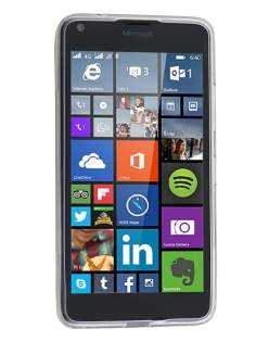 Wave Case for Microsoft Lumia 640 - Frosted Clear/Clear