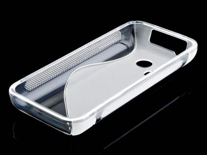 Nokia 220 Wave Case - Frosted Clear/Clear