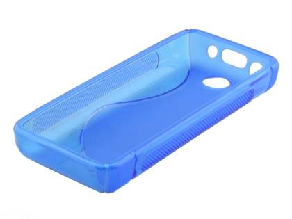 Nokia 108 Wave Case - Frosted Blue/Blue