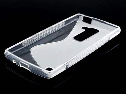 LG Spirit Wave Case - Frosted Clear/Clear