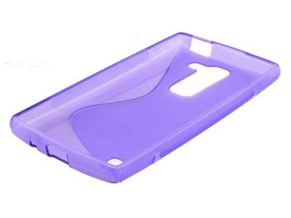 Wave Case for LG Spirit - Frosted Purple/Purple