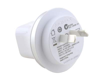 Momax 2.1A XC USB Travel Charger - Pearl White