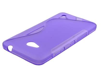 Wave Case for Microsoft Lumia 640 - Frosted Purple/Purple