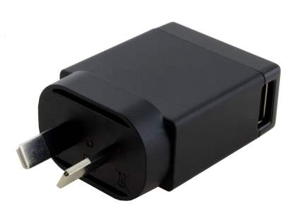 Genuine Sony 1500mA Wall Power Adapter with USB Port - Classic Black
