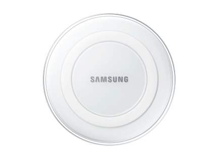 Genuine Samsung Wireless Charging Pad - Pearl White