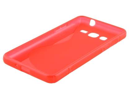 Samsung Galaxy Grand Prime Wave Case - Frosted Red/Red