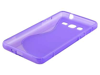 Samsung Galaxy Grand Prime Wave Case - Frosted Purple/Purple