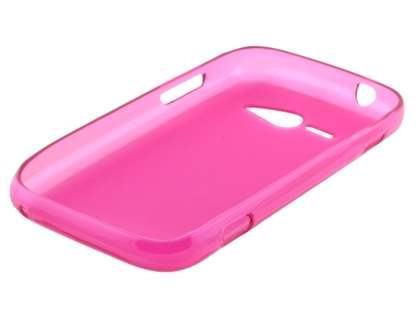 Frosted Colour TPU Gel Case for ZTE T80 Telstra Evolution - Frosted Pink