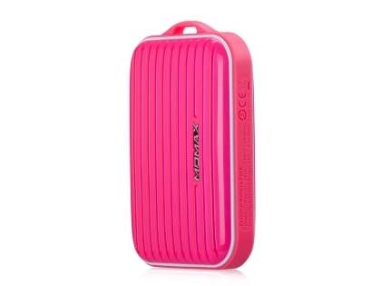 Momax iPower Go mini External Battery 8400mAh - Hot Pink Power Bank