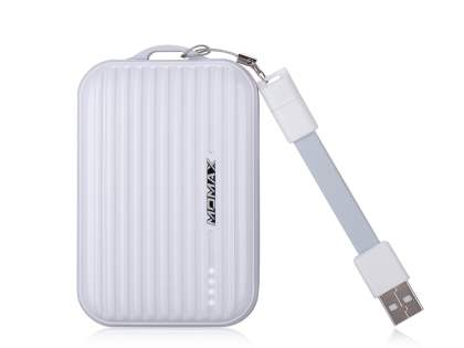 Momax iPower Go mini External Battery 8400mAh - Pearl White Power Bank