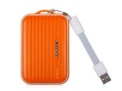 Momax iPower Go mini External Battery 8400mAh - Orange Power Bank