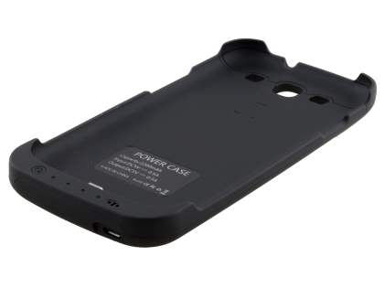 Samsung I9300 Galaxy S3 2200mA Battery Case - Classic Black