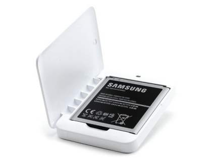 Genuine Samsung Galaxy S4 Extra Battery Kit - Battery Charger