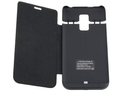 3800mAh Power Case Battery for Samsung Galaxy Note Edge - Classic Black