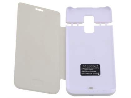3800mAh Power Case Battery for Samsung Galaxy Note Edge - Pearl White