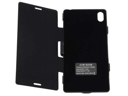 3200mAh Power Case Battery for Sony Xperia Z3 - Classic Black