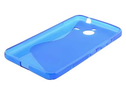 Wave Case for Microsoft Lumia 640 XL - Frosted Blue/Blue