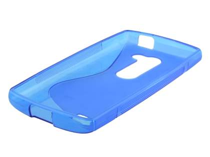 Wave Case for LG Leon - Frosted Blue/Blue