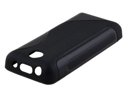 Nokia 108 Wave Case - Frosted Black/Black