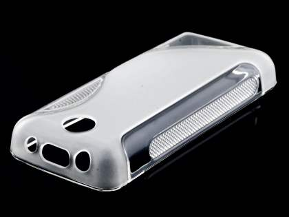 Nokia 108 Wave Case - Frosted Clear/Clear