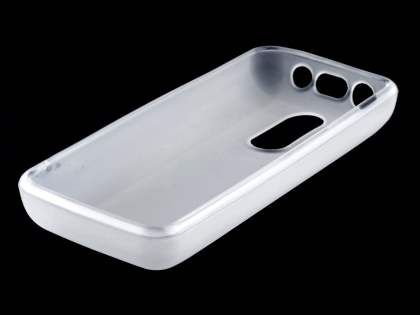 Nokia 108 TPU Gel Case - Frosted Clear