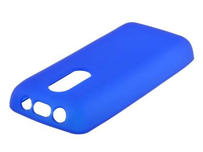 Nokia 108 TPU Gel Case - Frosted Blue Soft Cover
