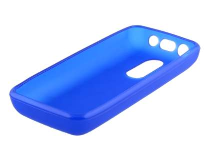 TPU Gel Case for Nokia 108 - Frosted Blue