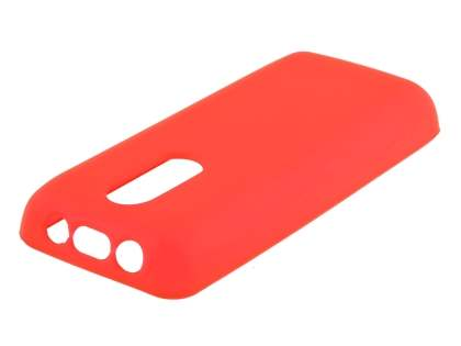 TPU Gel Case for Nokia 108 - Frosted Red