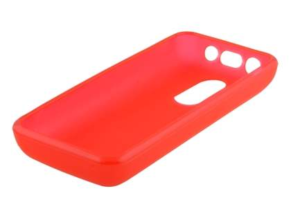 Nokia 108 TPU Gel Case - Frosted Red