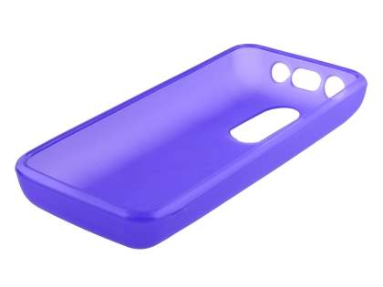 Nokia 108 TPU Gel Case - Frosted Purple